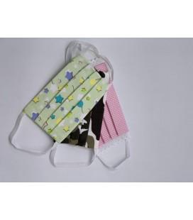Mascherine riutilizzabili Kids con pacco Filtri - Combo 61