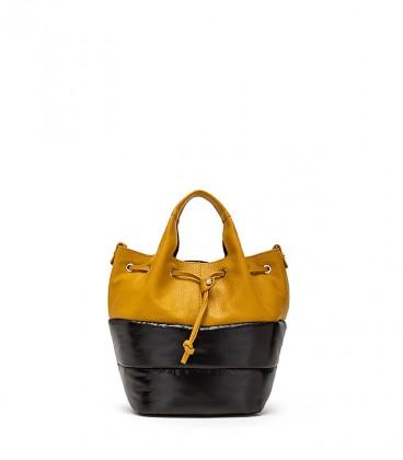 Gorgonzola bucket - yellow trim