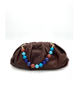 Elettra Boule - blue multi handle