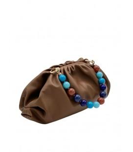 Elettra Boule - blue multicolor handle