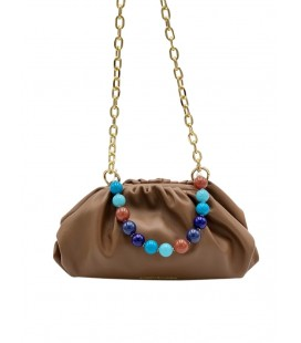 Elettra Boule - blue multicolor handle
