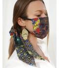 Mascherina e Fermacapelli African RG Cristallo