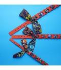 African print Collar
