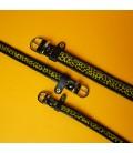 Jungle Fever collar Black/Yellow