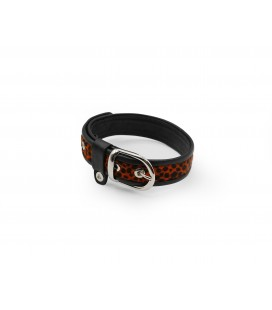 Jungle Fever collar Black/Orange