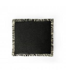 Cushion Straw-Leopard