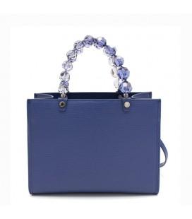 Shopping medium crystal blue