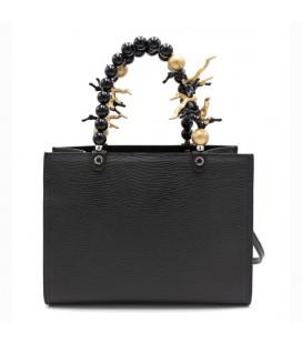 Shopping media coral black