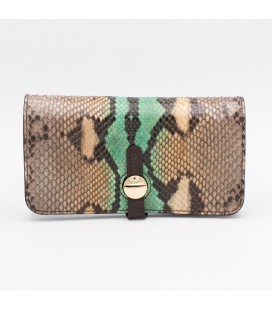 Lily portafoglio livrea verde