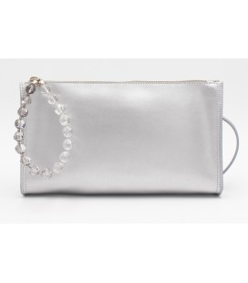 Kim crystal argento liscio