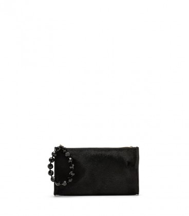 Sacher Pony clutch black