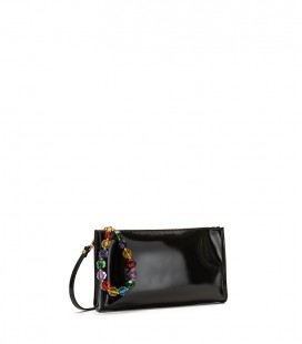 Sacher specchio clutch - multicolor sleeve