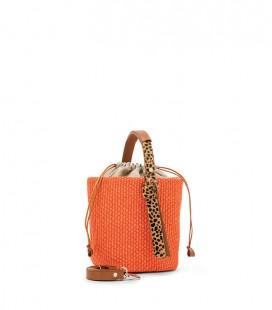 Santorini bucket - leopard