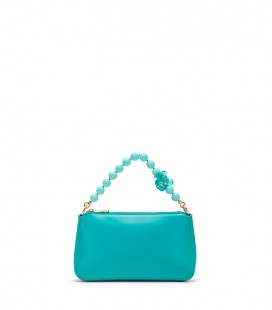 Ko Samui clutch - Turquoise handle
