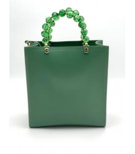Shopping vertical crystal verde