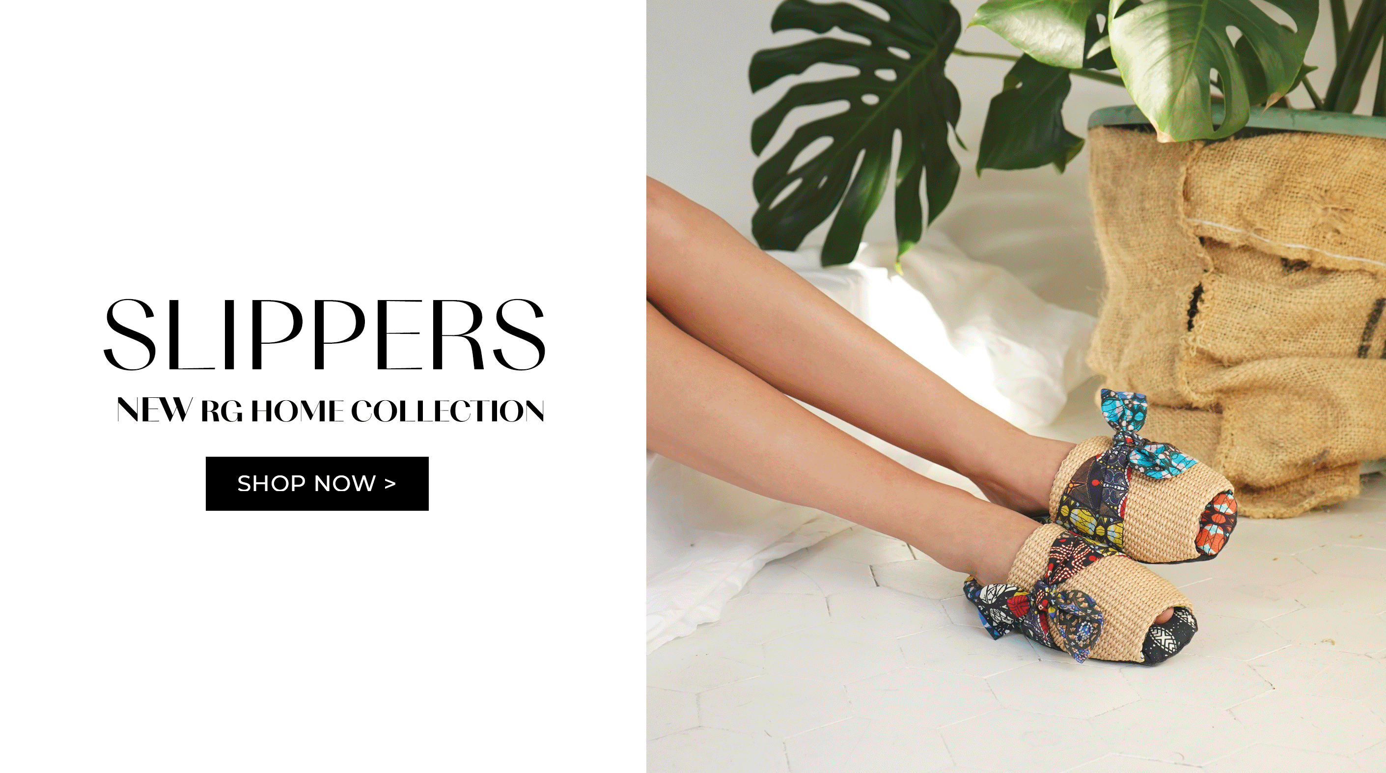 Slippers - Home Collection